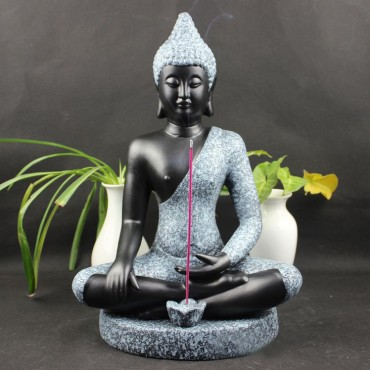Thai India Sakyamuni Buddha Chinaware Ceramics Status Handicraft Ornament