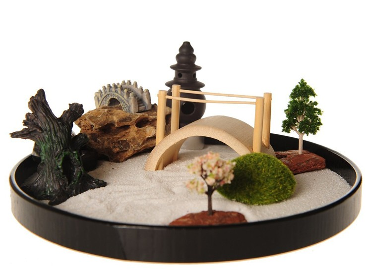 Zen garden mini zen garden tabletop zen garden zen for Table zen garden