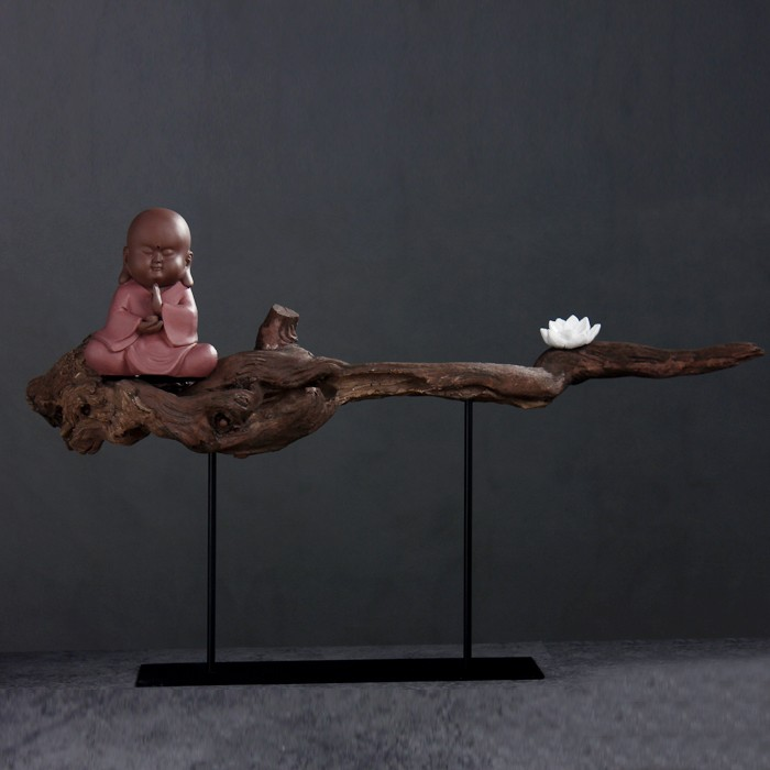 Buddha ornament zen ornament zen handicraft buddha for Deco chambre zen bouddha