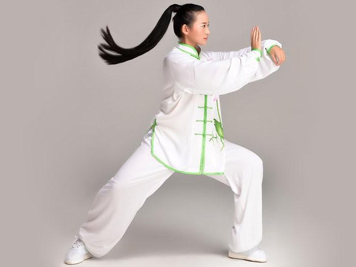 Tai Chi Clothing, White Tai Chi Clothing, Tai Chi Clothing for Woman, Tai  Chi Uniform, Chinese Tai Chi Clothing, Chinese Tai Chi Uniform, Tai Chi  Casual Clothing @ ICNbuys.com