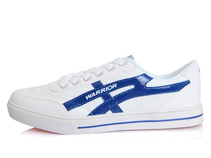 ec80cf446 Warrior Footwear Lovers Casual Shoes White Blue