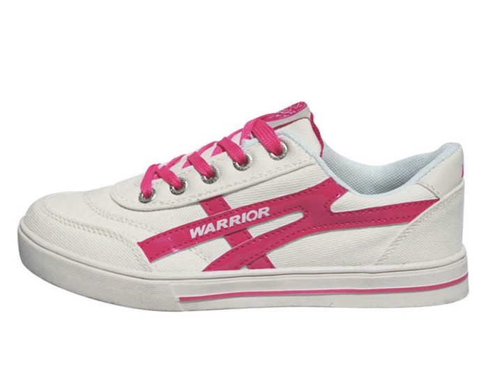 d433f1c66 Warrior Footwear Lovers Casual Shoes White Pink