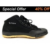 Feiyue High Top Black Shoes