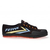 Feiyue Lo Multi Coloured Shoes -  Black/blue/yellow