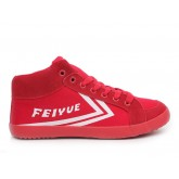 Feiyue DELTA MID Sneakers - Red Canvas Shoes