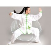 Tai Chi Clothing Traditional Lotus Pattern