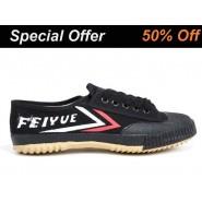 Black Feiyue Martial Arts Shoes