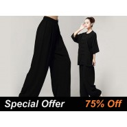Tai Chi Pants, Cotton Tai Chi Pants, Women Tai Chi Pants