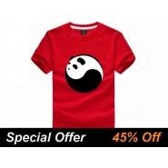 Tai Chi T-shirt, Tai Chi T-shirt Panda, Tai Chi T-shirt Panda Black