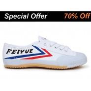 Feiyue Kung Fu Shoes, White Feiyue Martial Arts Shoes