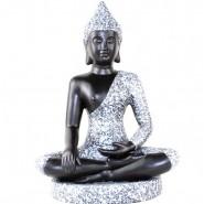 buddha statue, Buddha Ceramic Status, Buddha Status Ornament, Shakyamuni Buddha Status, South-East Asia Thai Shakyamuni Buddha Ceramic Status Ornament hand-made