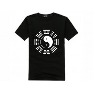 Tai Chi T-shirt, Tai Chi T-shirt Eight Trigrams, Tai Chi T-shirt Eight Trigrams Black