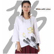 lay buddhist clothing; chinese style clothing; cotton clothing; casual clothing; autumu casual clothing; autumn casual flax cotton chinese style lay buddhist clothing