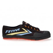 Feiyue Lo Multi Coloured Shoes - Black/blue/yellow