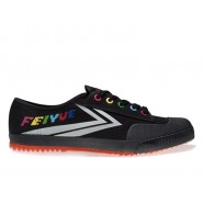 Feiyue Lo Canvas Sneakers - Black/Grey Shoes