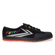Feiyue Lo Canvas Sneakers - Black/Grey Shoes