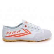 Feiyue Lo Canvas Sneakers - White/Red Shoes
