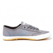 Feiyue Plain Canvas Sneakers - Grey Shoes