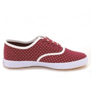 Feiyue Plain Sneakers, Feiyue Polka Dot shoes, Feiyue Maroon Sneakers, Feiyue Maroon Canvas Shoes, Feiyue Shoes