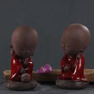 Monk Ornament; Zen Ornament; Zen Handicraft; Monk Handicraft Decoration; Zen Monk Ornament Handicraft Decoration; Chinese Zen Monk Ornament Handicraft; Original Chinese Style Zen Buddha Handicraft Ornament Decoration