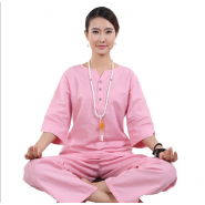zen uniform; meditation uniform; zen meditation uniform; summer zen uniform; summer meditation uniform; cotton zen uniform; cotton meditation uniform; summer zen meditation women uniform; Original Summer Autumn Zen Meditation Women Cotton Uniform