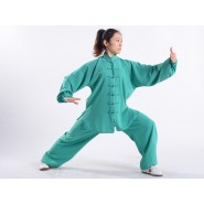 Tai Chi Clothing, Tai Chi Uniform, Tai Chi Clothing Woman, Tai Chi Uniform Woman, Tai Chi Clothing Green, Tai Chi Clothing summer,