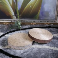 cattail hassock; cattail hassock for zen; cattail hassock for meditation; simple cattail hassock for zen meditation