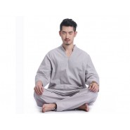 zen uniform; meditation uniform; zen meditation uniform; summer zen uniform; summer meditation uniform; cotton zen uniform; cotton meditation uniform; summer zen meditation men uniform; summer zen meditation men cotton uniform long sleeve