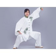 Tai Chi Clothing Traditional Bamboo Pattern Woman
