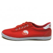 Tai Chi Shoes, Canvas Tai Chi Shoes, Tai Chi Shoes Tai Chi Pattern, Chinese Tai Chi Shoes, Discount Tai Chi Shoes, Red Tai Chi Shoes