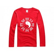 Tai Chi T-shirt, Tai Chi T-shirt long sleeve, Tai Chi T-shirt Red