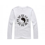 Tai Chi T-shirt, Tai Chi T-shirt long sleeve, Tai Chi T-shirt White