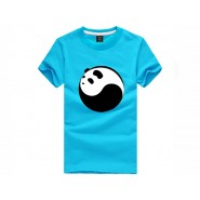Tai Chi T-shirt, Tai Chi T-shirt Panda, Tai Chi T-shirt Panda Light blue