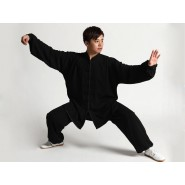 Tai Chi Uniform Cotton and Silk Suit for Men and Women