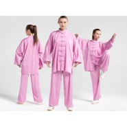 Tai Chi Uniform Silk and Satin Suit for Men