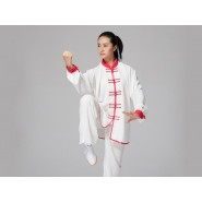 Tai Chi Clothing, bouble breasted  Tai Chi Clothing, Tai Chi Uniform with binding. Tai Chi Clothing for Woman, Tai Chi Uniform, Chinese Tai Chi Clothing, Chinese Tai Chi Uniform, Tai Chi Casual Clothing