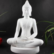 Sakyamuni Buddha; Buddha Ornament; Thai India Buddha; Chinaware Handicraft Ornament; Original Handicraft Ornament; Thai India Sakyamuni Buddha in Sitting Position Chinaware Originally Handicraft Ornament