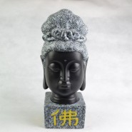 Thai Buddha; Buddha Head; Buddha Statue; Ceramics Ornament; Buddha Handicraft; Original Handicraft; Thai Sakyamuni Buddha Head Status Original Chinaware Ceramics Handicraft Ornament
