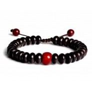 Buddhist Prayer beads, Buddhist Prayer bracelet, Buddhist Prayer necklace, Buddhist Mala, Bodhi Beads, Bodhi Beads bracelet, Buddhist Prayer 18 Indonesia Coconut Shell Beads, Buddhist Prayer 18 Indonesia Coconut Shell Beads adjustable