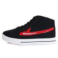 Warrior footwear, Warrior sneaker, Warrior footwear high top sneaker,Warrior footwear high top sneaker black red
