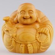 wood carving; wood carving Buddha; Maitreya Buddha ornament; Buddha ornament; wood carving Maitreya Buddha ornament handicraft