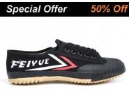 Tai Chi Feiyue Shoes Black