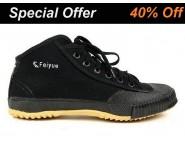 Feiyue High Top Black Kung Fu Shoes
