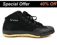 Feiyue High Top Black Shoes