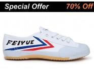 Tai Chi Feiyue Shoes White