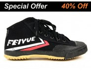 Feiyue High Top Shoes Black