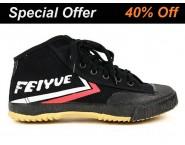 Feiyue High Top Shoes Black