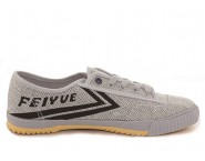 Feiyue Plain Lovers Sneaker - Light Gray Shoes