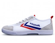 Feiyue Shoes 2016 Updated Lover Shoes Causal Style Blue Red Strips