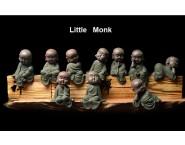 Origin Zen Porcelain Little Monk Ornament Handicraft